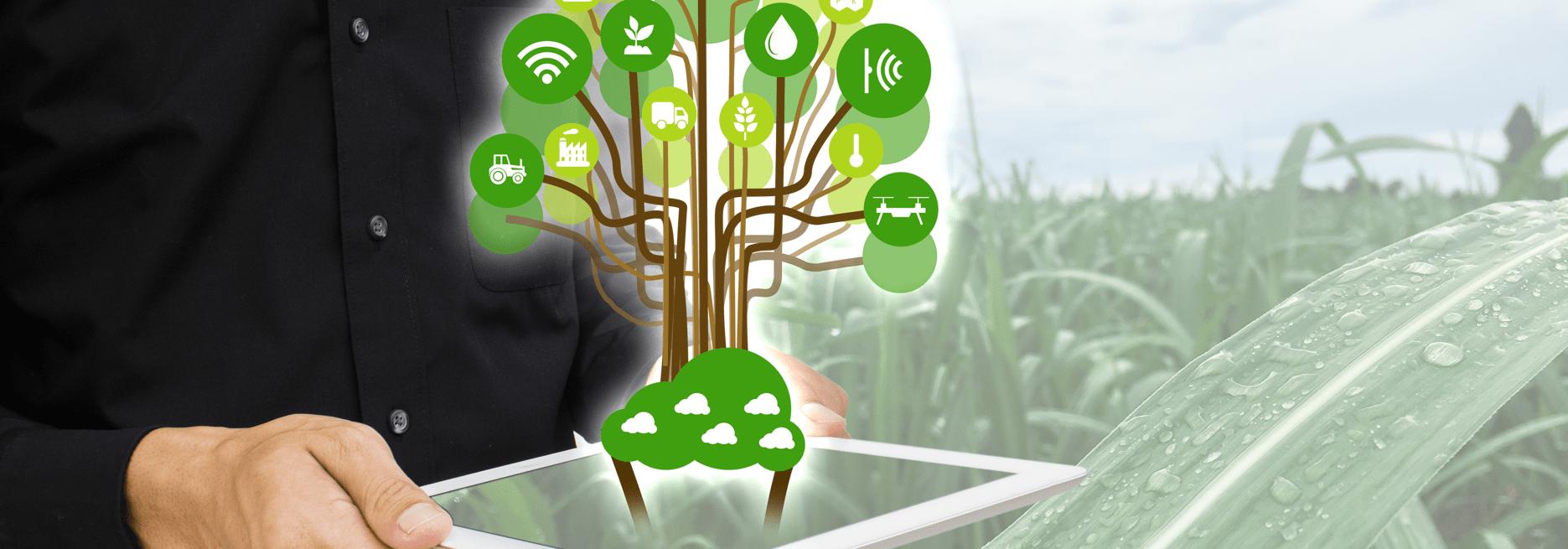 Celluar connectivity for agriculture