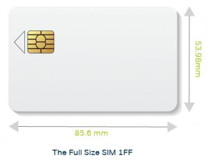 SIM Form Factor 1FF